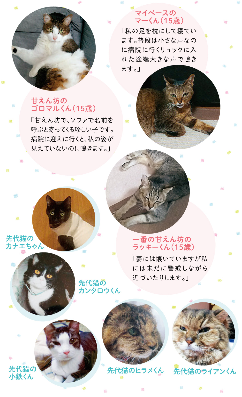西川さんのご家族をご紹介