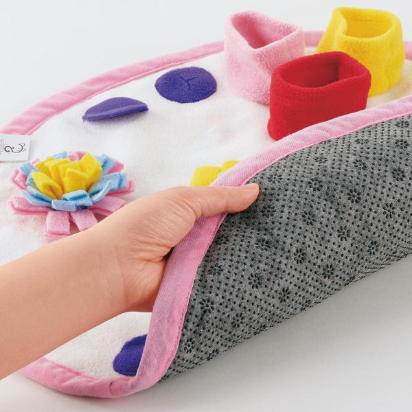 安全性と使いやすさにこだわり、折りたたんでコンパクトに収納、丸洗いもOK