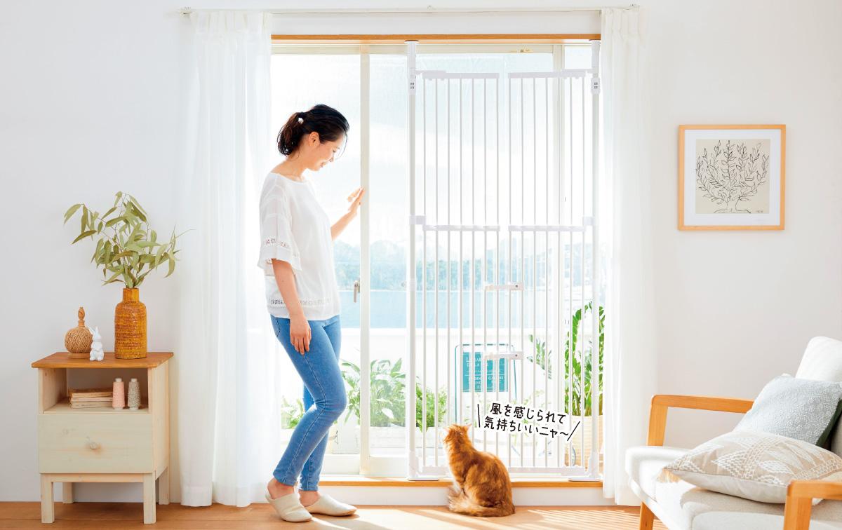 愛猫の脱走・いたずらを防止する