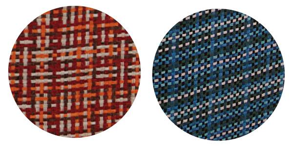 カラーは温かみのあるレッド、さわやかなブルーの2色。